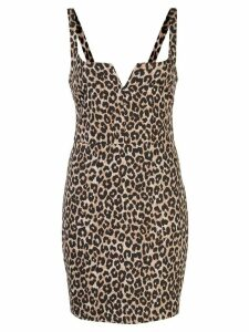 Likely Constance leopard print dress - Brown