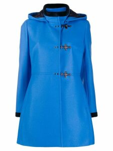 Fay hooded duffle coat - Blue