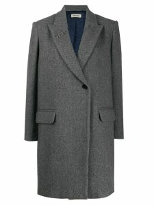 Zadig & Voltaire fitted single-breasted coat - Grey