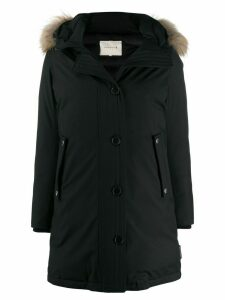 Mackintosh DORNOCH Black Wool Down Parka LD-1001