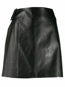 Ermanno Scervino wrap front skirt - Black