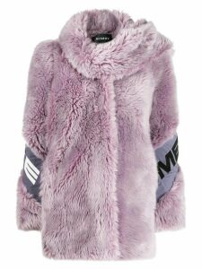 Misbhv Europa faux fur coat - Purple