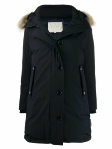 Mackintosh DORNOCH Navy Wool Down Parka LD-1001 - Blue
