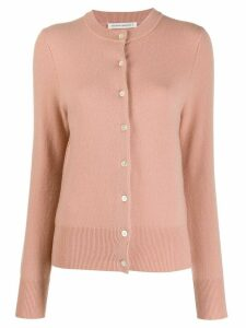 Extreme Cashmere button-up fitted cardigan - PINK