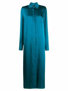 Federica Tosi long shirt dress - Blue