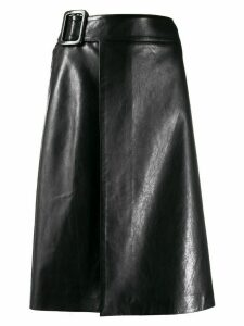 Ermanno Scervino A-line wrapped skirt - Black
