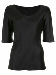 Gloria Coelho silk top - Black