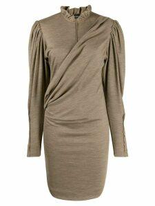 Isabel Marant Divya dress - Brown