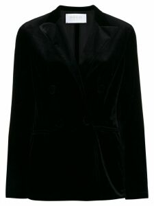 Harris Wharf London velvet blazer - Black