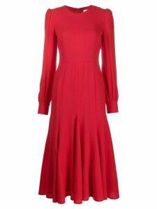 Goat Idol midi dress - Red