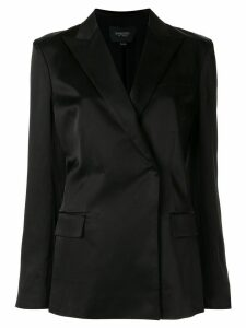 Giambattista Valli double-breasted fitted blazer - Black