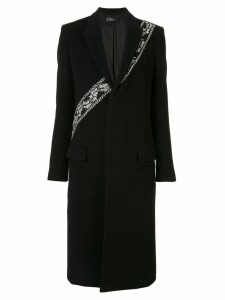 Amiri embellished single-breasted coat - Black