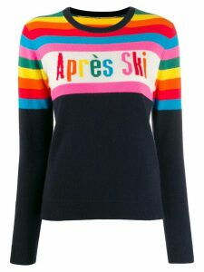 Chinti & Parker Aprés Ski knitted jumper - Blue