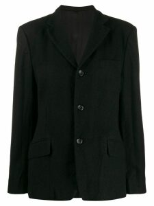 Junya Watanabe fitted single-breasted blazer - Black