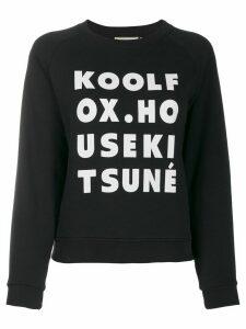 Maison Kitsuné Kool Fox sweatshirt - Black