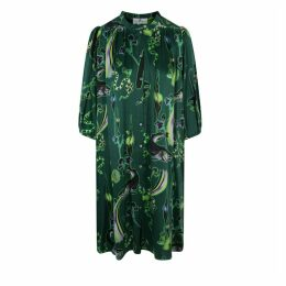 Klements - Scout Dress Rainbow Trout Print Absinthe