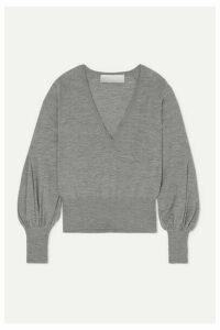 Antonio Berardi - Merino Wool Sweater - Light gray