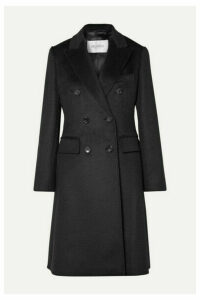 Max Mara - Rigel Double-breasted Camel Hair Coat - Black