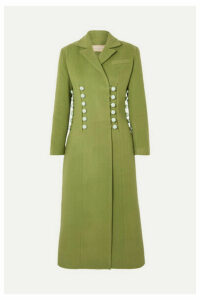 MATÉRIEL - Button-detailed Wool-blend Coat - Green