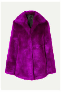 RtA - Kate Faux Fur Coat - Purple