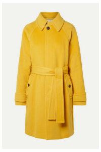 Diane von Furstenberg - Lia Belted Wool Coat - Marigold