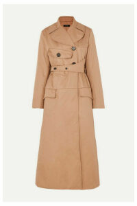Ellery - Overload Belted Padded Cotton-twill Coat - Beige