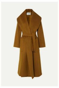 Max Mara - Belted Camel Hair Coat - Brown
