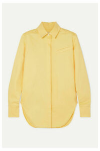 Aleksandre Akhalkatsishvili - Oversized Cotton-twill Shirt - Yellow