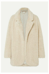 Vanessa Bruno - Murray Faux Shearling Coat - Ivory