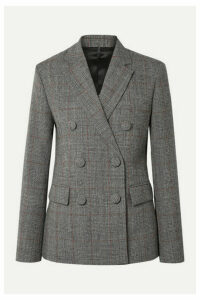 Helmut Lang - Prince Of Wales Checked Wool Blazer - Gray