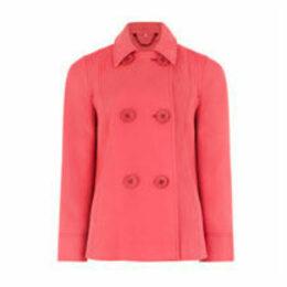 Pink Car Coat