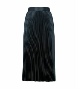 Glaycie Contrast Panel Pleated Skirt