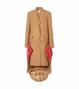 Wool Waistcoat-Detail Coat