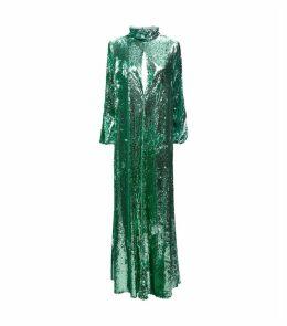 Barbara Sequin Maxi Gown