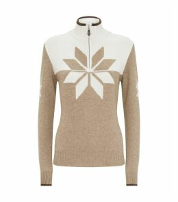 Cashmere Snowflake Sweater