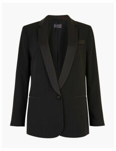 M&S Collection PETITE Tuxedo Blazer