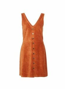 Womens **Only Ginger Pinafore Dress- Ginger, Ginger