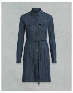 Belstaff AIMEE DRESS Blue UK 12 /
