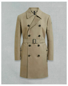 Belstaff Garrison Trench Brown UK 8 /