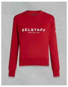 Belstaff BELSTAFF 1924 SWEATSHIRT Red
