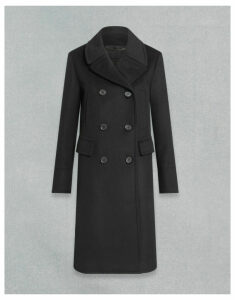 Belstaff OFFICERS COAT Black UK 4 /