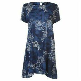 Nvme  Lana Dress Ladies  women's Dress in Blue