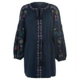 Eden And Rose  Tunic  women's Tunic dress in Blue