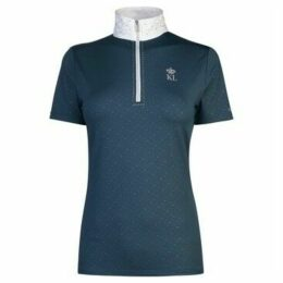 Kingsland  Benissa Show Shirt Ladies  women's Polo shirt in Blue