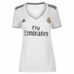 adidas  Real Madrid Home Shirt 2018 2019 Ladies  women's T shirt in White