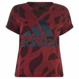 adidas  Essentials AOP T Shirt Ladies  women's T shirt in Other