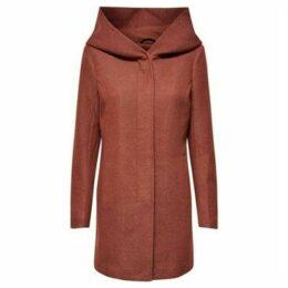 Only  ABRIGO DE MUJER  women's Coat in Brown