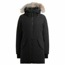 Canada Goose  Parka Rosemont in black with non-removable adjustable hood  women's Parka in Black
