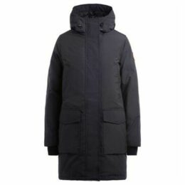 Canada Goose  Parka Canmore blue with adjustable hood  women's Parka in Blue