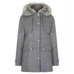 Anastasia  Grey Wool Duffle Coat  women's Coat in Grey